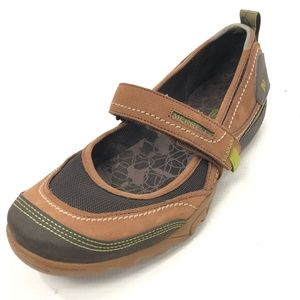MERRELL Mimosa 10 Mary Janes Shoes Brown
